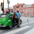 Otra ciudad que se apunta a realizar visitas turísticas con un citroën 2CV.