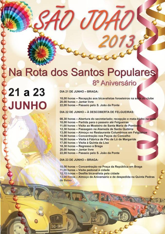 Rota dos Santos Populares 2014