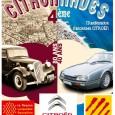 Exposición de vehículos citroën clásicos y antiguos.