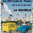 22e Rencontre Nationale des 2cv clubs de France, se celebrará del 13 al 17 mayo de 2015 en La Rochell.
