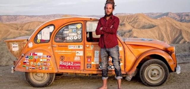 Televisión Española emitirá este docushow de Mediapro sobre la aventura del español Jorge Sierra durante 4 años en 57 países, a bordo de su 2CV.