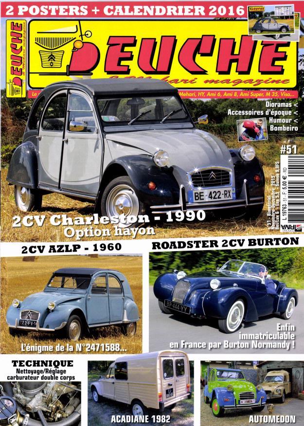 Magazine Deuche Mehari 51