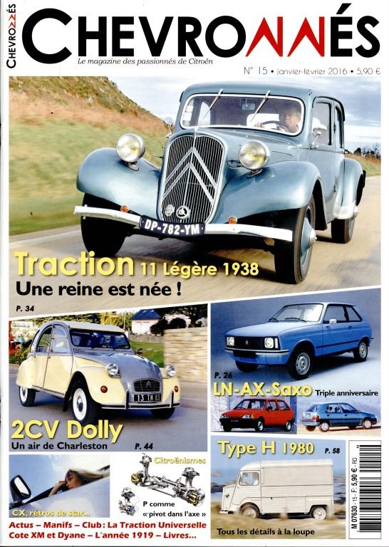 Magazine Chevronnés 15