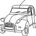 La Francia de posguerra tuvo un romance con el 2CV, con el que recorría ciudades, caminos rurales e iba a la playa.