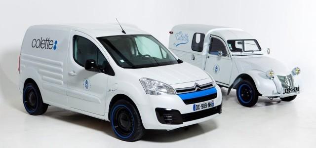Doble aniversario de la marca ya que además de los 65 años del 2CV furgoneta, es también el 20 aniversario de la Berlingo.