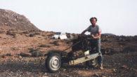 El ingenio le permitió a Emile Leray salir con vida luego de que su vehículo quedara inservible en medio del desierto, convirtiendo su Citroen 2CV en moto.