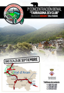 1º Bienal Bossot- Val d'Aran. 2CV @ Bossòst | Catalonia | España