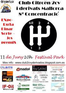8ª Concentración 2CV Mallorca. @ Festival Park, Mallorca | Marratxí | Illes Balears | España