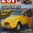 A la une de 2 CV magazine 120 (janv-fev 2018) 2 CV Spécial 1978 Après cinq ans d'existence, la 2 CV Spécial est arrêtée sur chaîne en août 1979 et […]